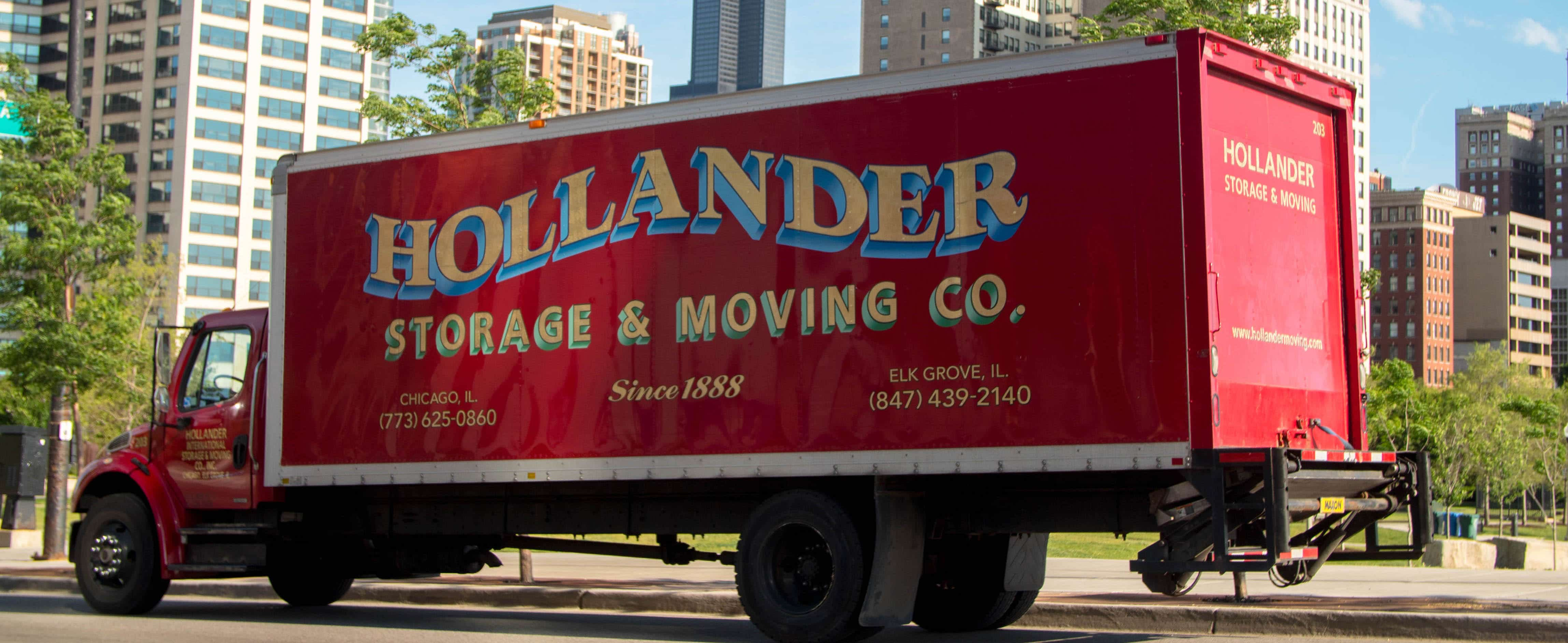 Hollander Chicago Movers Truck