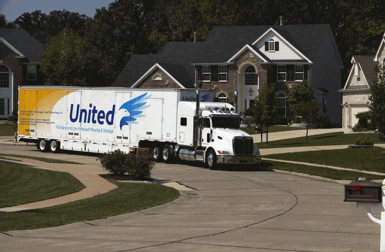 United Van in Neighborhood